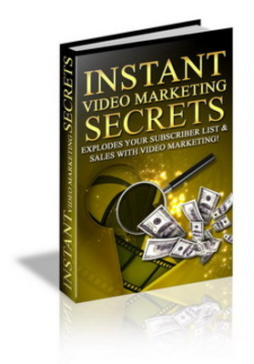 Product picture INSTANT VIDEO MARKETING SECERT