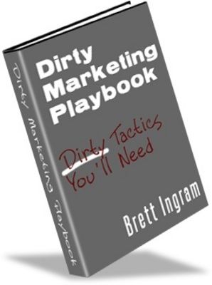 Product picture Dirty Marketing playbook Make More Money From your Website